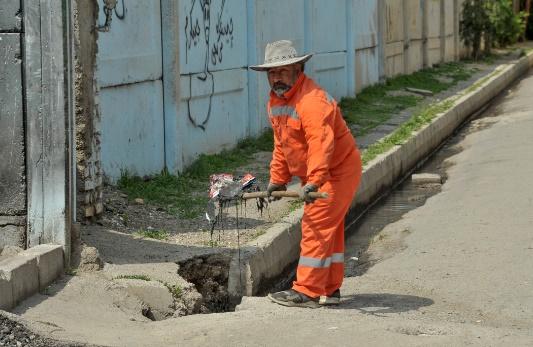 معضلات مشترک حسن آباد و ترک آباد/نزاع همیشگی همسایه ها بر سر زباله////////