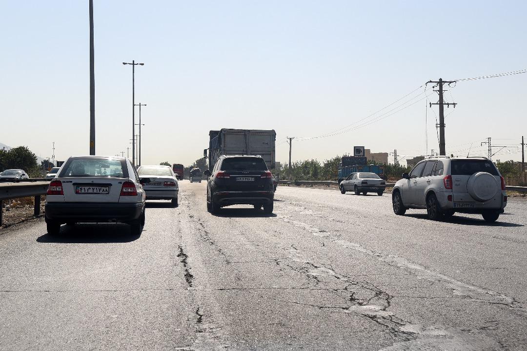 مشکلات کهنه بزرگراه کرج/ آمادگی پلیس برای همکاری در ایمن سازی